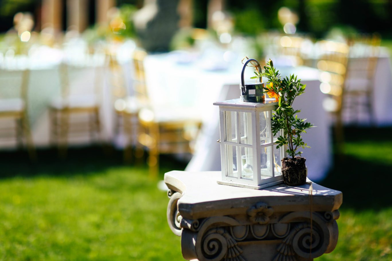 how to decorate your outdoor wedding dallas palms venue